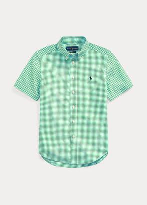 Ralph Lauren Gingham Cotton Poplin Shirt