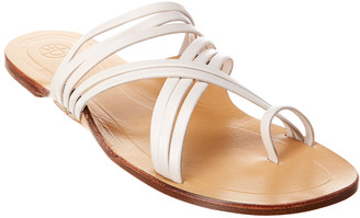 The Row Cannes Strappy Nappa Leather Sandal