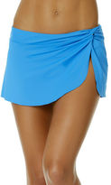 Anne Cole Knot Front Sarong Swim Skirt