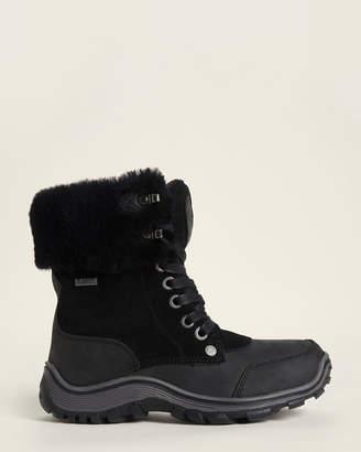 Pajar Black Abbie Sheepskin-Lined Waterproof Boots