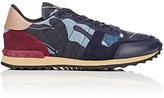 Valentino Men's Rockrunner Sneakers-NAVY