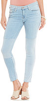 Big Star Alex Patchwork Stretch Ankle Skinny Jeans