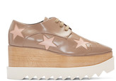 Stella McCartney Taupe Elyse Star Derbys