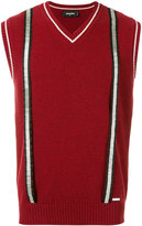 DSQUARED2 knitted vest - men - Wool - XL