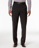 Sean John Men's Classic-Fit Charcoal Plaid Suit Pants