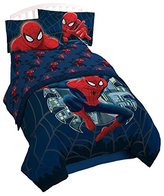Marvel Spiderman Microfiber 4 Piece Full Sheet Set