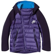 Nike Purple Tech Fleece Aeroloft Jacket