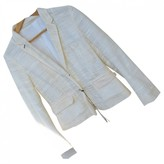 Mauro Grifoni White Cotton Jacket for Women