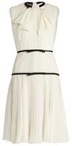 Giambattista Valli Pleated silk-georgette dress