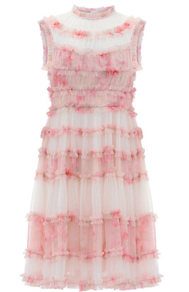 Needle & Thread Memory Frilled Tulle Dress