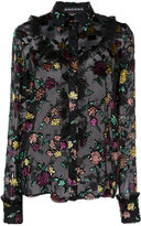 Rochas embroidered blouse - women - Silk/Polyester/Viscose - 40