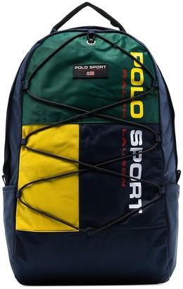 Polo Ralph Lauren logo printed backpack