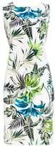 Wallis Ivory Leaf Print Shift Dress