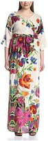 Melissa Masse Women's Floral Print Maxi Dress