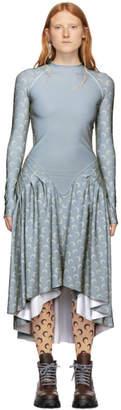 Marine Serre Silver D50 Reflect Dress