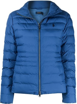 Polo Ralph Lauren Polo Pony embroidered padded jacket