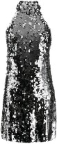 Galvan Gemma sequin mini dress
