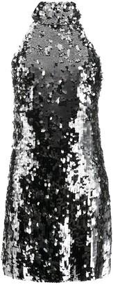 Galvan Gemma sequin mini dress