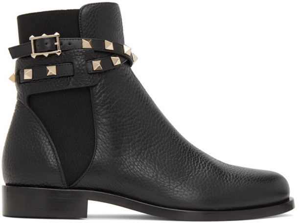 Ankle Boots With Straps Or Buckles