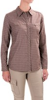 Royal Robbins Plaid Flannel Shirt - UPF 50+, Snap Front, Long Sleeve (For Women)