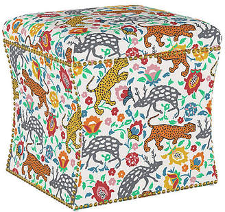 Awesome Leopard Ottoman Shopstyle Ncnpc Chair Design For Home Ncnpcorg