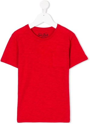 MC2 Saint Barth Kids chest pocket T-shirt