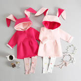 JJ Park Bunny Jacket And Pom Pom Leggings Set