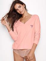 Victoria's Secret Victorias Secret Fleece V-neck Pullover