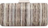 Neiman Marcus Multicolor Metallic Box Clutch Bag