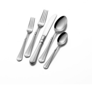 Mikasa French Countryside 65-Piece Flatware Set, Service for 12