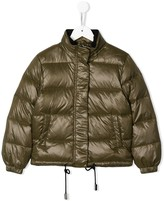 John Richmond Junior feather down padded jacket