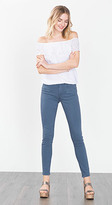 Esprit OUTLET skinny stretch jeans with decorative zips