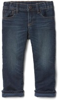 Gap Stretch super soft lined straight jeans