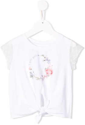 Lapin House knot detail T-shirt