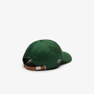 Lacoste Men's Contrast Strap Cotton Cap