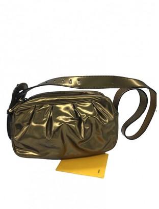 Fendi Bebaguette Metallic Leather Handbags