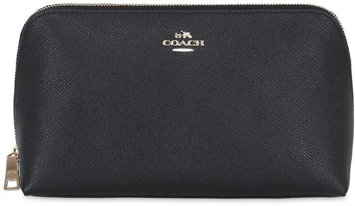 Coach Ny Crossgrain Leather Cosmetic Case