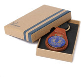 Fred Perry Classic Since 1952 Tan Brown Key Fob