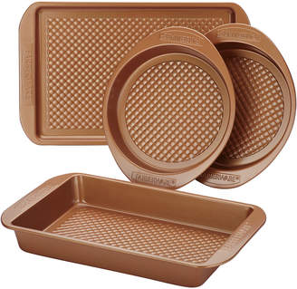 Anolon Farberware Colorvive 4Pc Bakeware Set