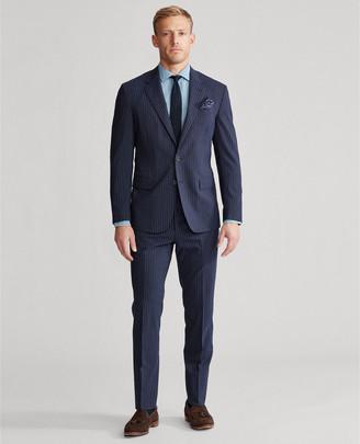 Ralph Lauren Polo Dot-Stripe Stretch Suit