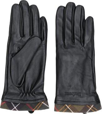 Barbour Plaid-Trim Gloves
