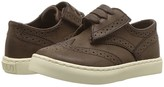 Polo Ralph Lauren Alek Oxford EZ (Toddler/Little Kid) (Chocolate Burnished Tumbled) Boy's Shoes