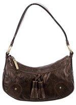 Burberry Brogue Leather Mini Shoulder Bag