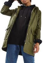 Topshop PETITE Ivy Borg Lined Coat