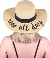 Funky Junque H-2017-RAD Embroidered Sun Hat