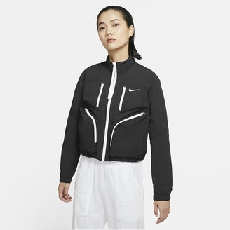 Nike Women's Woven Jacket Sportswear Tech Pack