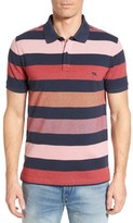 Rodd & Gunn Men's Hutt Valley Stripe Pique Polo