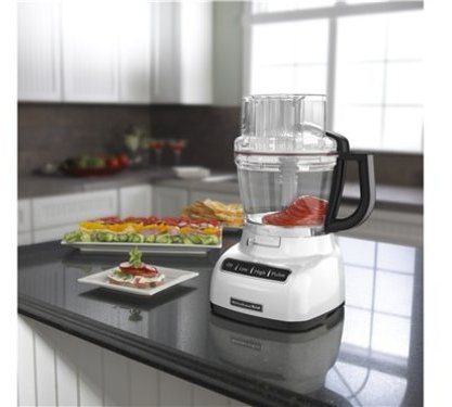 KitchenAid 13-c. Precise Slice Food Processor, White