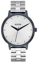 Nixon Unisex Quartz Watch with Black Dial Analogue Display Quartz Stainless Steel A0991849