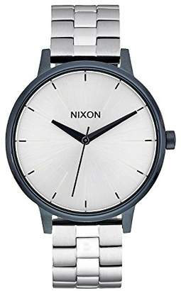 Nixon Unisex Quartz Watch with Black Dial Analogue Display Quartz Stainless Steel A0991849